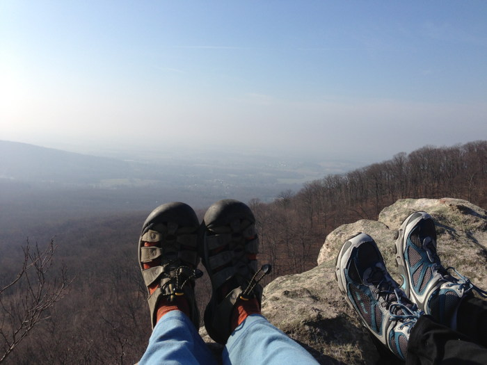 Annapolis Rocks Feet